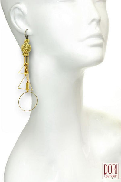 GoGo Geometric Earrings - Single Earring