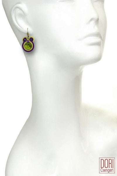 Kiwi Dangle Earrings