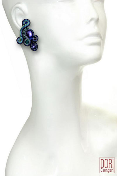 Louna Clip On Earrings
