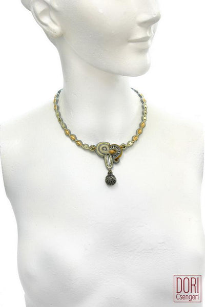 Metallic Casual Princess Necklace