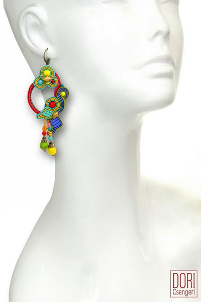 Soleil Bold Colors Earrings