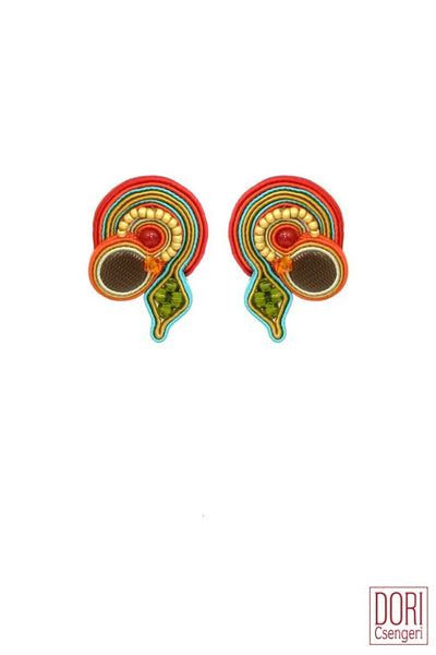 Summer Clip On Earrings