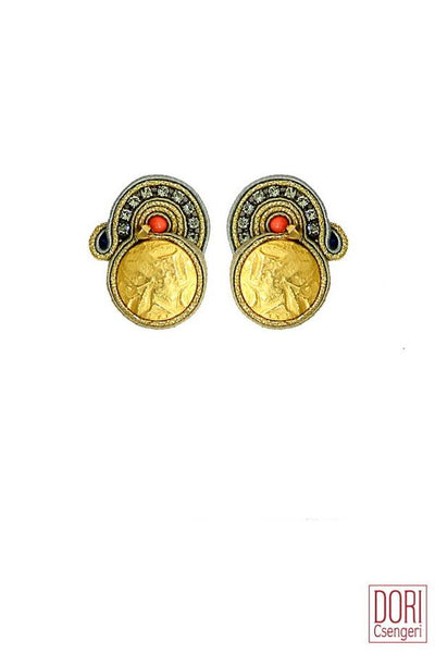 Theodora Gold Earrings
