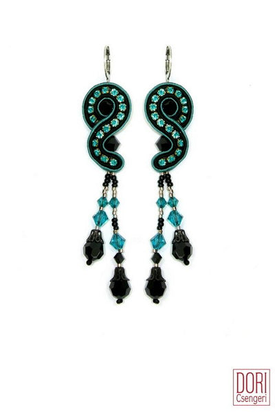 Tania Crystal Earrings