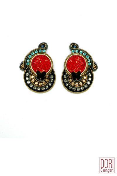 Venetian Dream Clip On Earrings