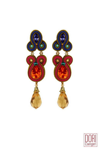 Valse Jewel Tone Earrings