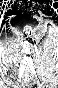 Nocterra #1 Tony S. Daniel 1:100 Black and White Variant