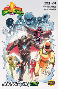 Mighty Morphin' Power Rangers #31 Surprise Comics Exclusive Cover by Lucas Werneck