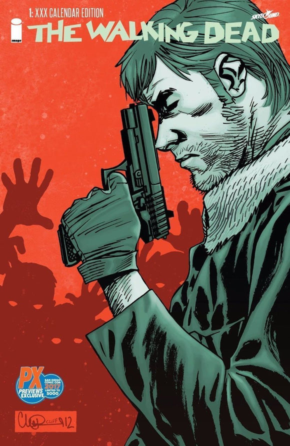 the Walking Dead #1: Diamond SDCC 2017