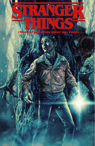 Stranger Things #1 Surprise Comics Exclusive Cover by Lee Bermejo