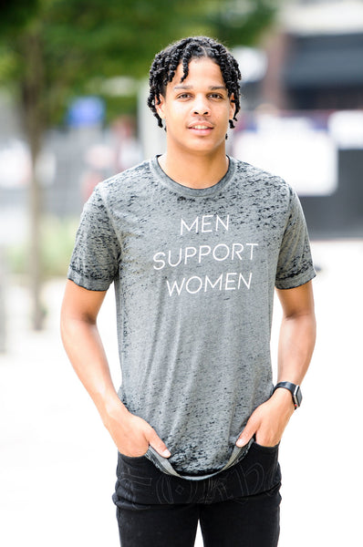 MEN SUPPORT WOMEN tee