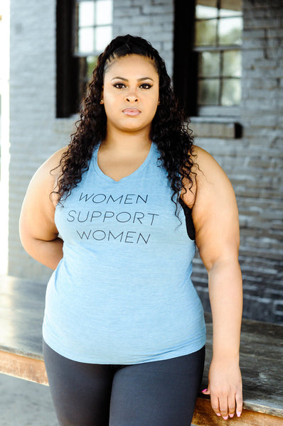 WOMEN SUPPORT WOMEN muscle tee
