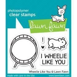 LAWN FAWN CARIMBOS I WHEELIE LIKE YOU - Papeloja