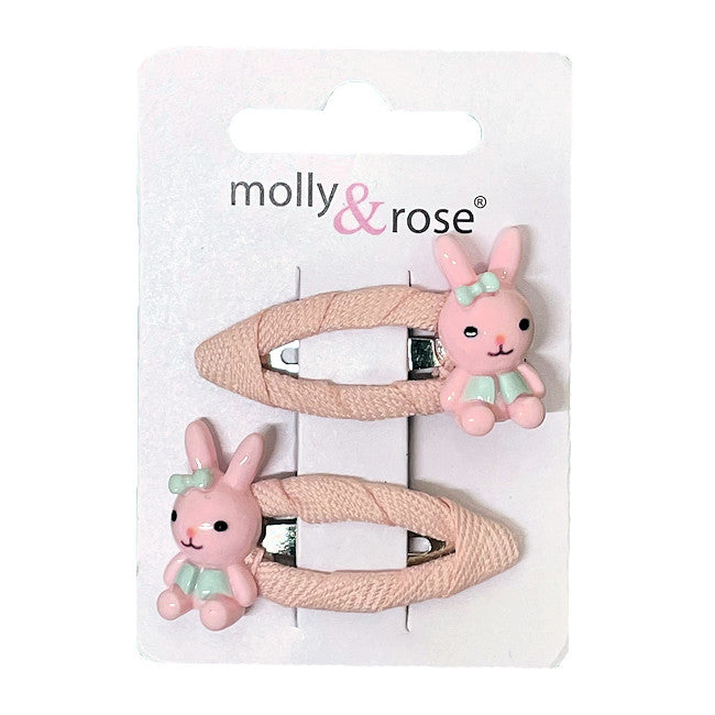Bunny Rabbit Hair Slides (8)