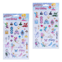 Fairy Puffer Stickers Set (12)