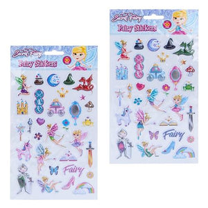 Fairy Puffer Stickers Set
