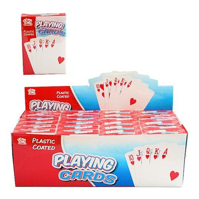 Plastic Coated Playing Cards (24)