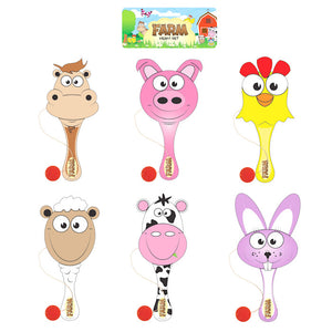 Wooden Farm Paddle Biff Bats
