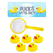 6pc Ducks & Net Set