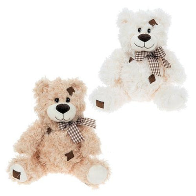 Plush Teddy Bear with Bow