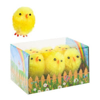 6pc Easter Chenille Chick Set