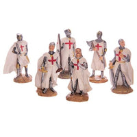 Battle Ready Resin Crusader Knight Figures (24)