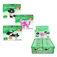 Farm Animal Mini Brick Sets