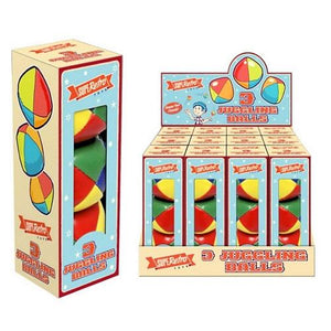 3pc Retro Juggling Ball Sets