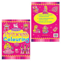 Bumper Princess Colouring Book