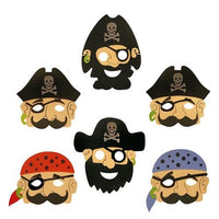 Pirate EVA Foam Masks (24)