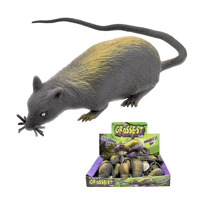 Stretchy Bead Filled Black Rat