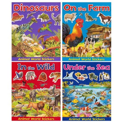 Animal World Sticker Books