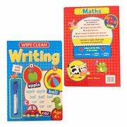 Wipe Clean Writing-Maths & Spelling Book