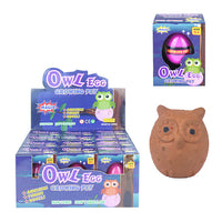 Growing Owl Egg Pet