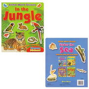 Animal World Sticker Activity Books