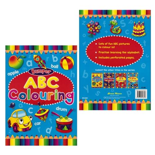 Bumper ABC Colouring Book