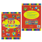 Bumper 123 Colouring Books