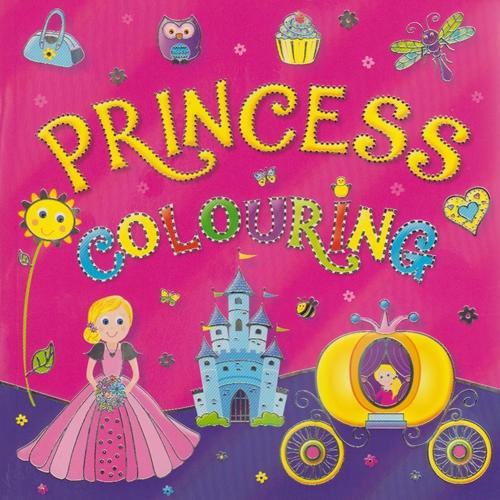Princess Colouring Book (5)