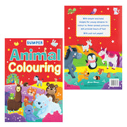 Bumper Animal Colouring Book