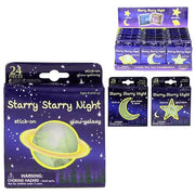 Glow in the Dark Moons Stars (24)