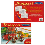 Transport Colour Art Book