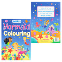 Bumper Mermaid Colouring Book
