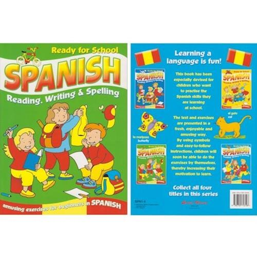 Ready for School Spanish Book