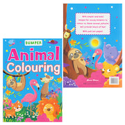 Bumper Animal Colouring