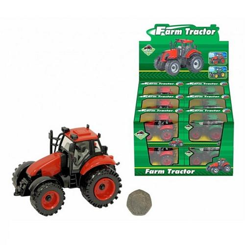 Large Boxed Farm Tractor