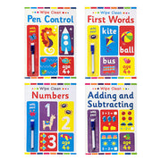 Wipe Clean Early Learning Book - Ages 4+