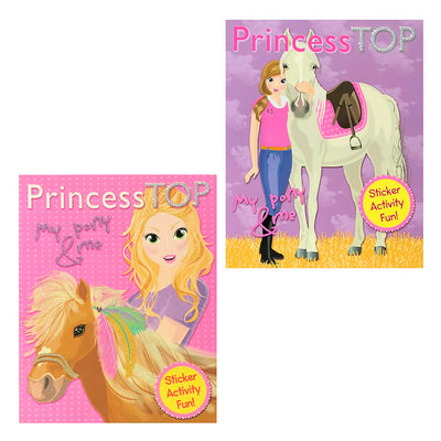 Princess Top My Pony & Me Sticker Activity Fun (6)