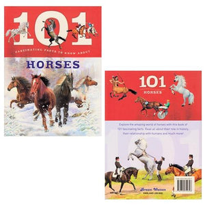 101 Facts About Horses Book