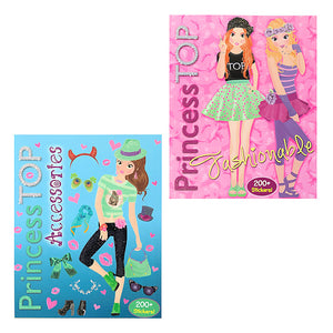 Princess Top Accessories Activity Book