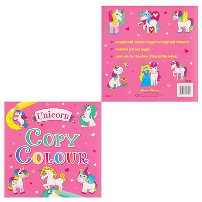 Unicorn Copy Colour Book